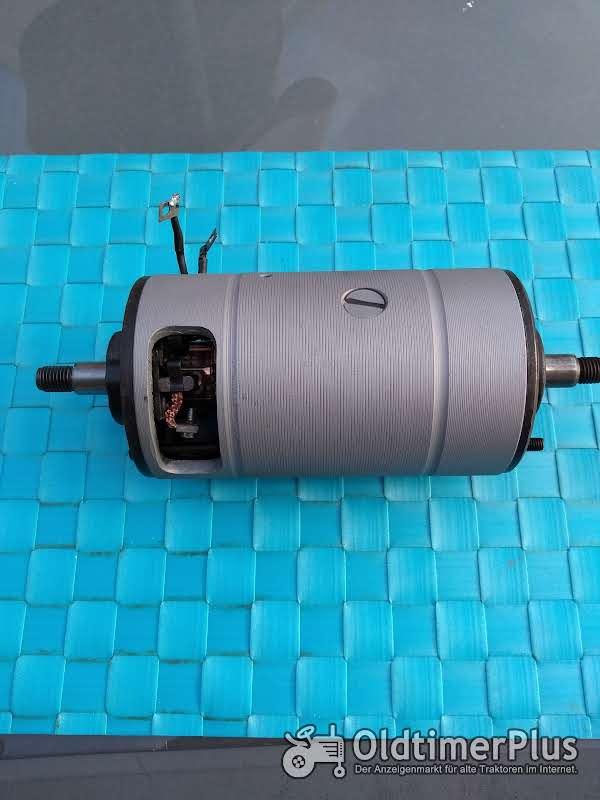 Bosch 6 volt Gleichstrom Lichtmaschine 90 mm   generalüberholt Foto 1