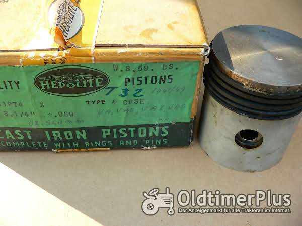 "Case Tractor 1941/49  Cast Iron Pistons  3 1/4  "" + .060"" VA, VAC ,VAI, VAD Foto 1"