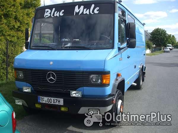 Mercedes-Benz Wohnmobil, DB 609, H-Kennzeichen, 123500km Foto 1