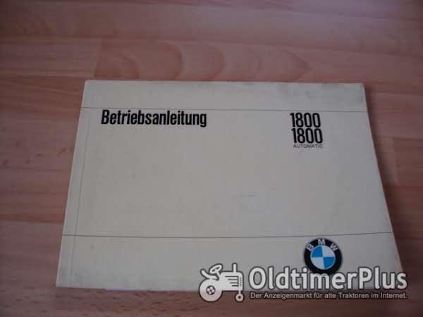 orig. Betriebsanleitung BMW 1800 1967 Foto 1
