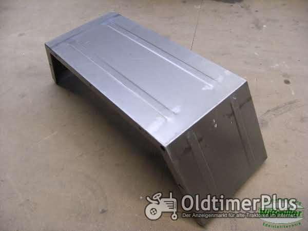 MB Trac 700 800 900 1000 1100 Kotflügel hinten 500 mm Schutzblech Blechteil Foto 1