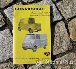 Literatur Betriebsanleitung Glas Goggomobil Transporter TL 250 300 400 / 1960