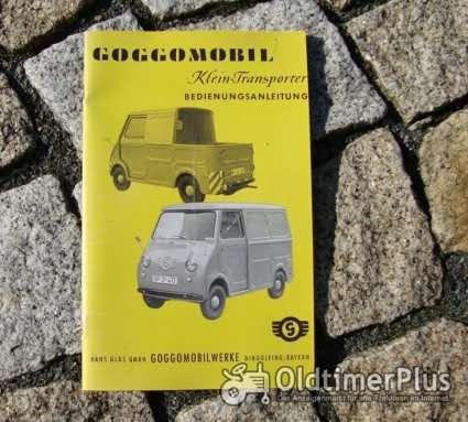 Betriebsanleitung Glas Goggomobil Transporter TL 250 300 400 / 1960 Foto 1