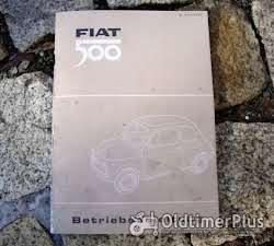 Betriebsanleitung Fiat 500 F L 1970 Foto 3