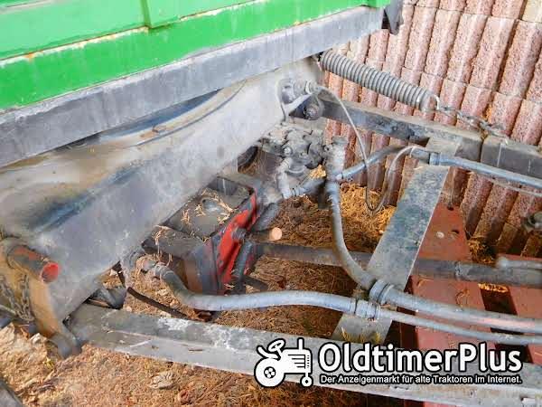 Blumhardt 2 Seiten Kipper Hydraulik, 5 to. Stahlboden, gute Bereifung Foto 1