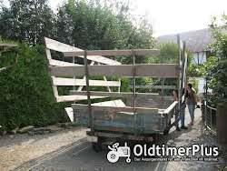 Fendt Brückenwagen ,Langholzwagen Foto 2