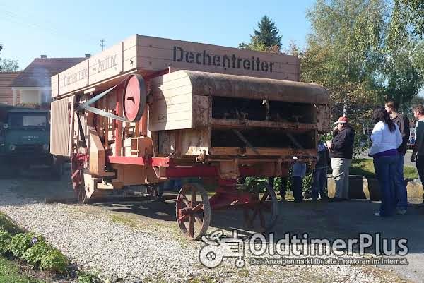Dechentreiter Zwilling JD72 Dreschwagen Foto 1