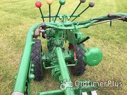 AGRIA Hatz Agria 2800 Hatz 12 PS mit Völker Triebachs-3Seit-Kipper-Anhänger Foto 5