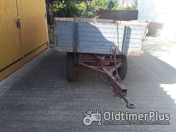 Notnagel Anhänger 3,2 Tonnen Foto 1