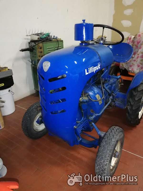 Trattorino epoca lugli Lilliput motore Enfield Lugli Lilliput motore Enfield Foto 1