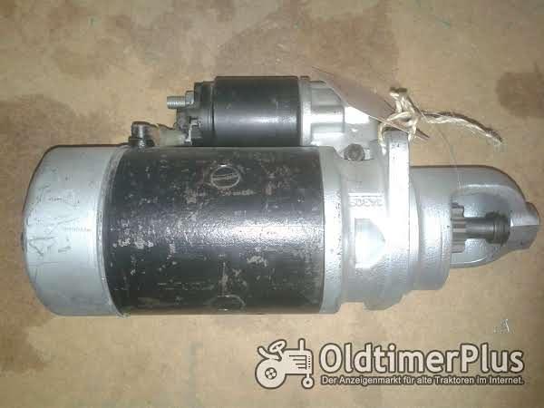 Bosch Anlasser 12v 3kw 0 001 359 084 für MB trac Claas Foto 1