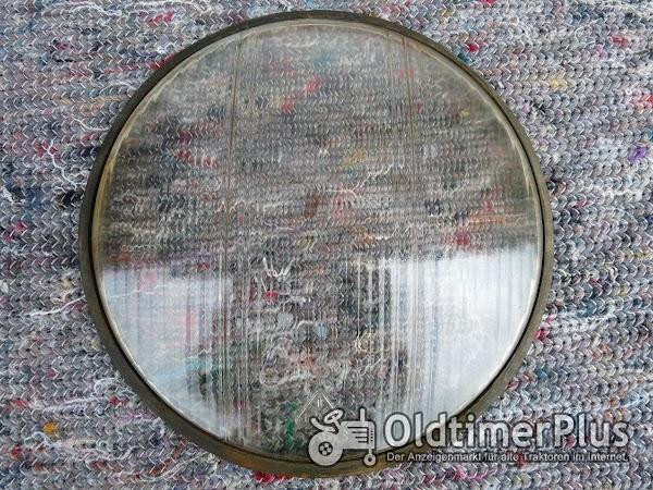 1 Stück Ersatzglas Scheinwerfer Oldtimer Ø16,5cm Foto 1