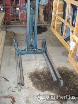 Montagehebegerät, mobil, mit Hydraulikzylinder Foto 2