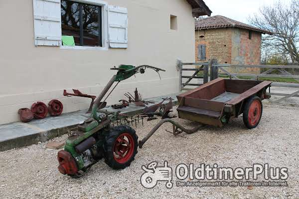 agria 2 wheel tractor Foto 1