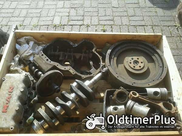 MAN 8613M 2P1 4P1 Motorteile Foto 1