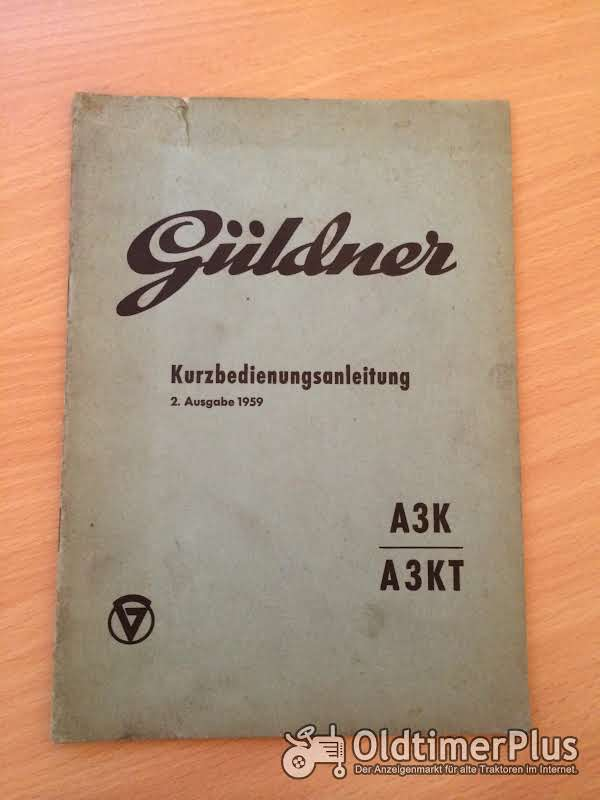 Güldner A3K A3KT Kurzbedienungsanleitung Foto 1