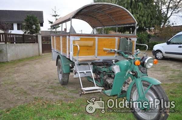 motoguzzi Ercole motocarro triporteur Foto 1
