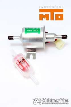Kraftstoffförderpumpe Universal 12 Volt inkl. Filter Universal Kraftstoffförderpumpe, HEP-02A, 12 Volt, inkl. Filter