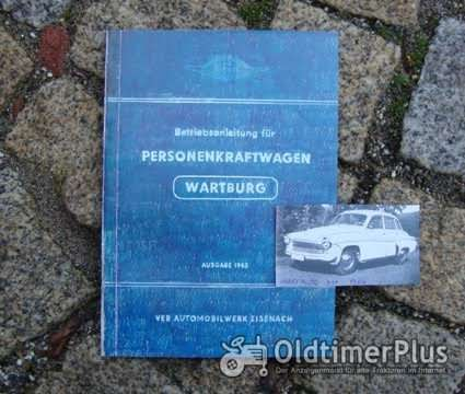 "Betriebsanleitung AWE Wartburg 311 ""1000"" 1963 Foto 1"