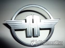 Hanomag Massives Rundes Emblem Foto 3
