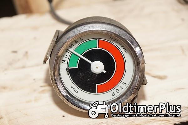 Hanomag Temperaturgeber  mit Kapilarrohr, neuwertig Foto 1