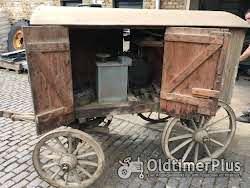 Dreschmaschinenantrieb, historisches Altertümchen Foto 2