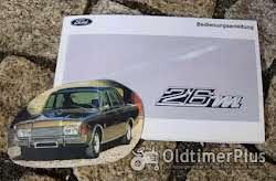 Betriebsanleitung Ford P7a 20M V6 1967 Foto 5