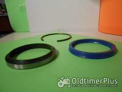 STOLL Dichtsatz Kolbenstange 60 mm Orginal Nr. Dichtsatz Kolbenstange 60 mm Nr.043240 3 Teilig Foto 2