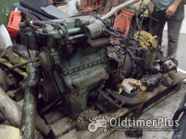 MB TRAC 800 Motor mit Getriebe , Achsen etc. Foto 1