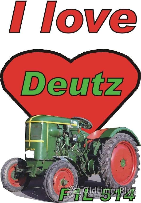 I love Deutz F1L 514 T-Shirt Foto 1