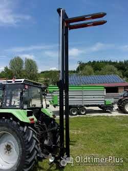 Jungheinrich Hubmast für Traktoranbau, Heckstapler, Anbaustapler, Staplerhubmast Foto 3