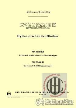 Mc Cormick IHC Farmall Case IH International Mc Cormick Farmall en International werkstattbücher betriebsanleitungen ersatzteillisten Foto 12