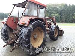 Schlüter Super 1250 mit Frontlader Foto 4