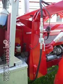 Stoll Frontlader mit Anbaukonsolen   Frontlader für Schlüter 850 V Compakt
