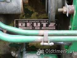 Deutz Deutz D 15 Schlepper/Oldtimer; Bj 1960; Hydraulik; Mähbalken Foto 9