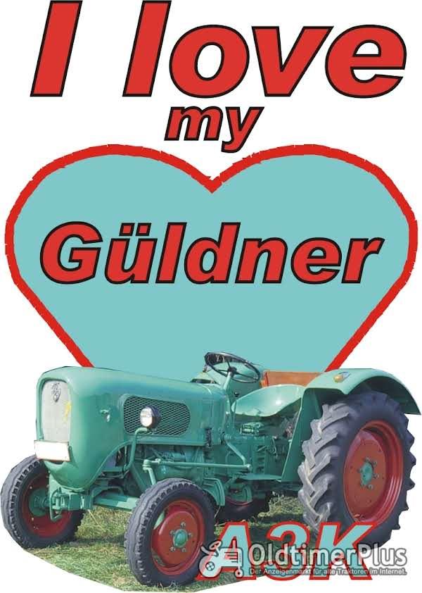I love Güldner A3K T-Shirt Foto 1