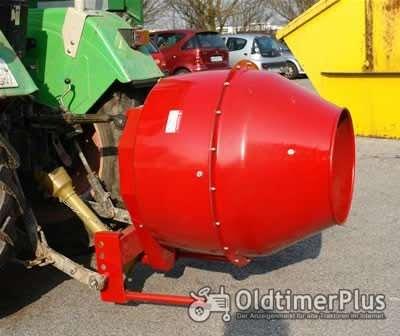 Betonmischer Futtermischer für Traktor Ø 45 cm Dreipunkt Aufhängung KAT 1 Foto 1