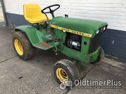 John Deere 140 garten traktor Foto 3