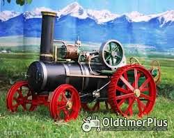 Dampftraktor Modell 1:8 Foto 3
