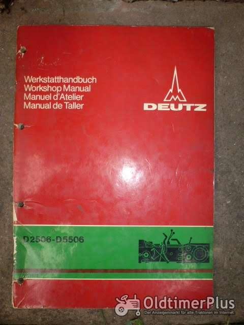 Werkstatthandbuch Getriebe Deutz D 2506 - 5506 Foto 1