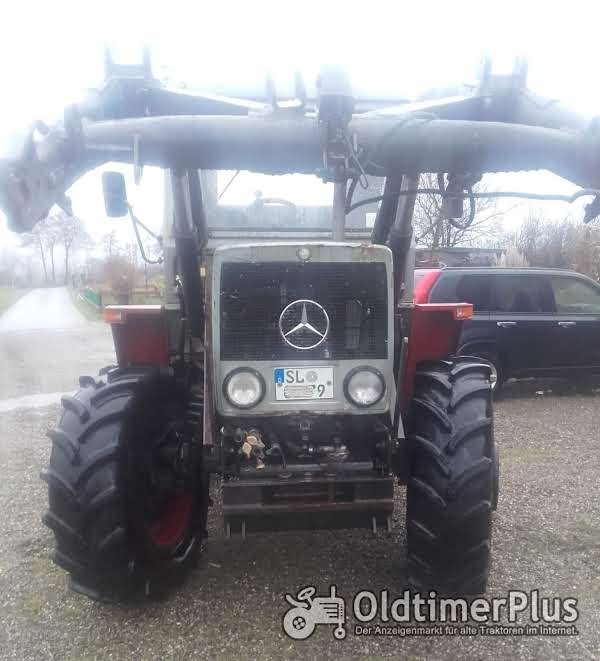 Mercedes MB TRAC 800 Frontlader photo 1
