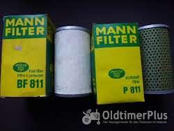 MANN 2 Kraftstofffilter 1x BF811 und 1x P811