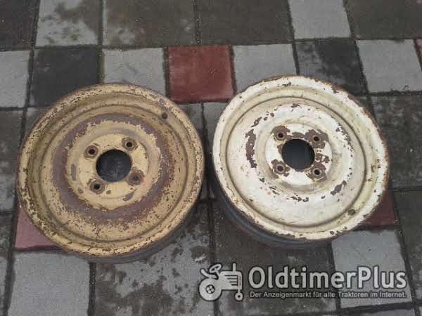 Keine Angaben Zwei Stück Vierloch Felgen Lochabstand 9 cm, Lochkreis 8,5 cm!! Foto 1