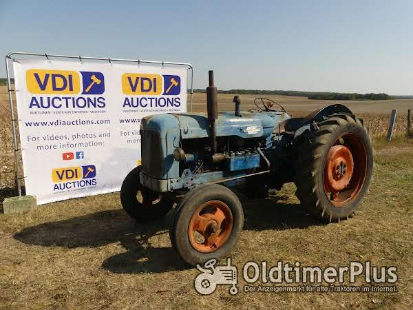 Fordson Major VDI-Auktionen Februar Classic Traktor 2019 Auktion in Frankreich  ! foto 1