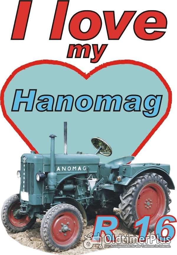 I love Hanomag R 16  T-Shirt Foto 1