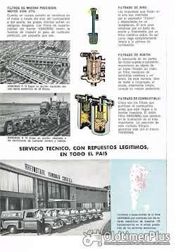 Hanomag R 75 Super traktor Prospekt aus Argentinien Foto 3
