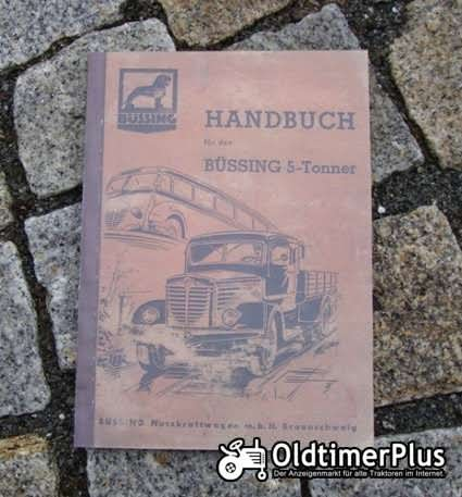 Betriebsanleitung Büssing 5000 S / A / T 1950 Lastwagen / Trambus Foto 1