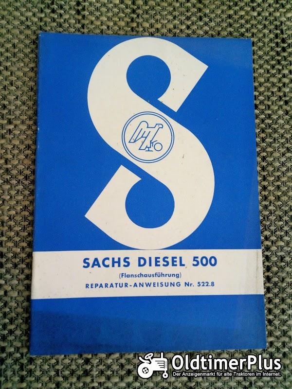 Sachs Diesel 500 Reparaturanweisung Nr. 522.8 Foto 1