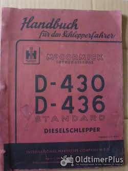 Literatur MC Cormick Handbuch für den Schlepperfahrer D430, 436
