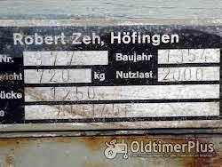Robert Zeh, Höfingen 2 Achser Foto 2